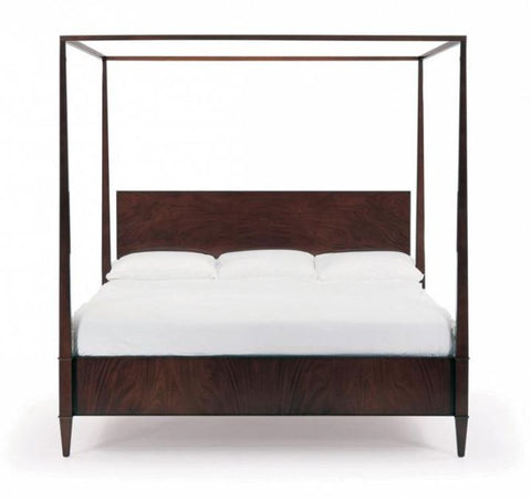 Rosenau Queen Panel Bed With Posts - Bolier & Co.
