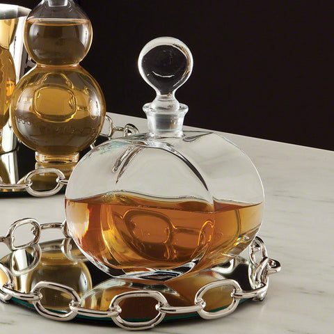 Round Glass Decanter - Global Views