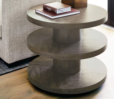 Profile Round End Table - Bernhardt Furniture