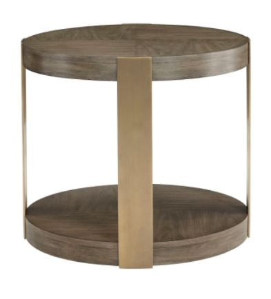 Profile Round Chairside Table - Bernhardt Furniture