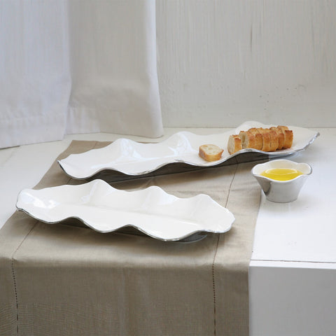 Ruffled Long Tray - Nima Oberoi-Lunares