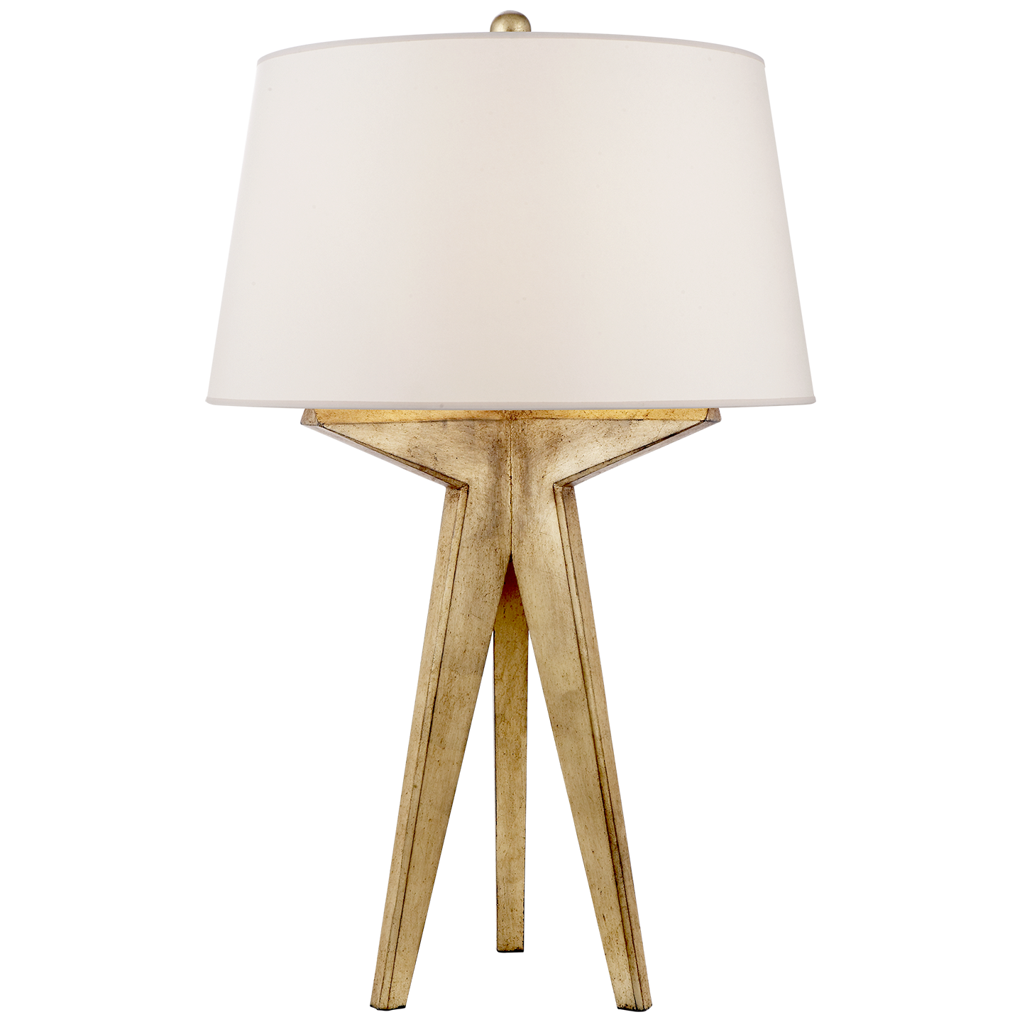 Modern table lamp tripod - Russell Modern Tripod Table Lamp Visual Comfort