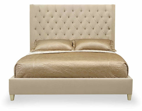 Salon Upholstered Queen Bed - Bernhardt