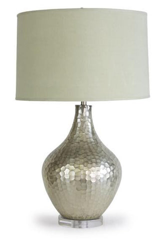 Sofia Table Lamp, Spotted Blue - Mr. Brown
