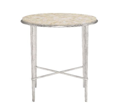 Solange Round Chairside Table - Bernhardt