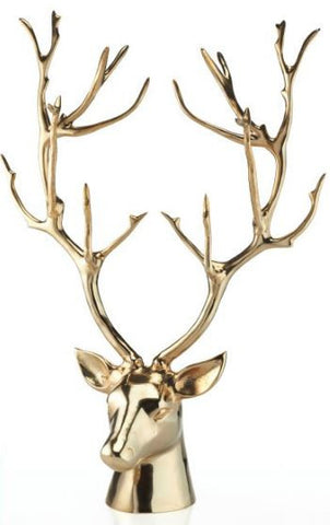 Stag Bust Gold - Nima Oberoi-Lunares