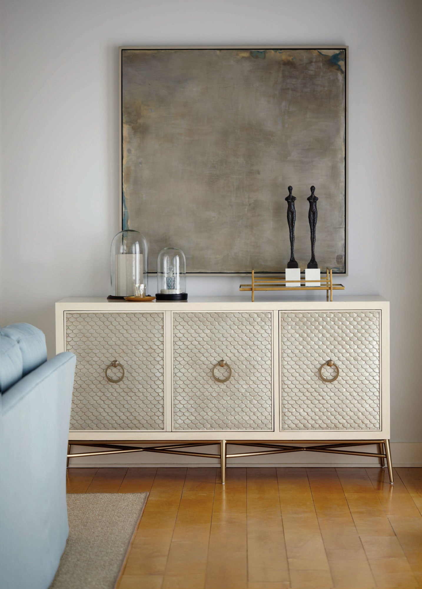 Salon Media Console Bernhardt Furniture Luxe Home Philadelphia
