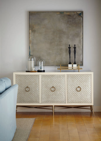 Salon Media Console Bernhardt Furniture Luxe Home