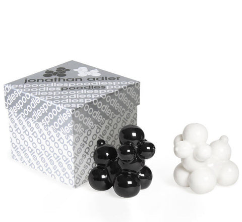 Poodle Salt & Pepper Shakers - Jonathan Adler