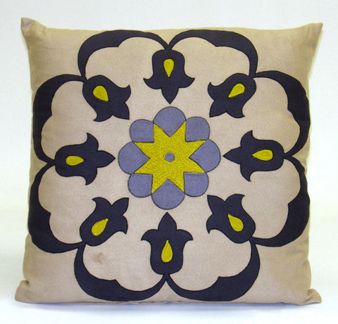 Santiago Floral Pillow - Sabira Collection