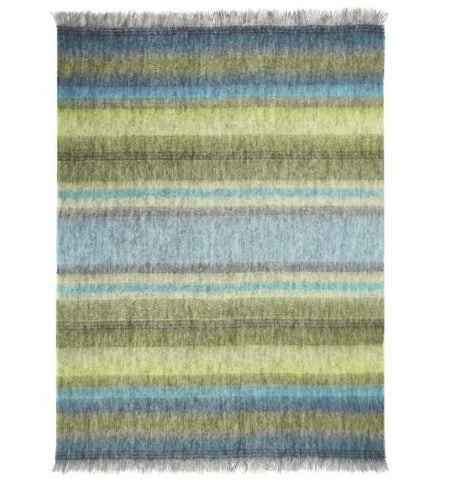 Santafiora Azure Throw - Designers Guild
