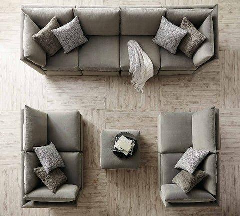 Sanctuary Sectional Sofa - Bernhardt Furniture