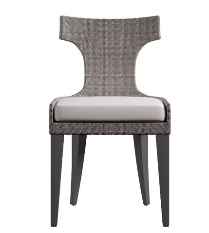Sarasota Wicker Side Chair - Bernhardt Exteriors
