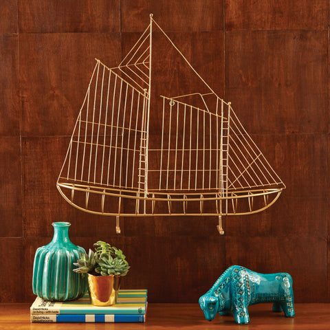 Schooner Wall Art - Two's Company