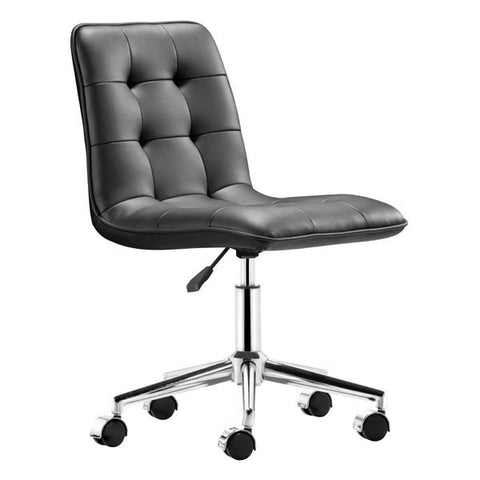 Scout Office Chair Black - Zuo Modern