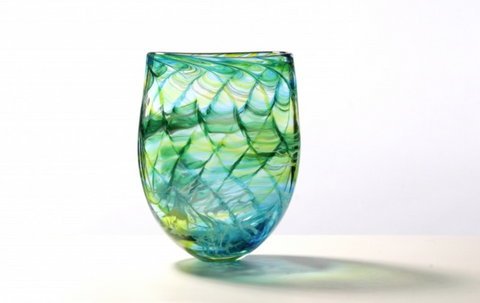 Ocean Vase - Teign Valley Glass