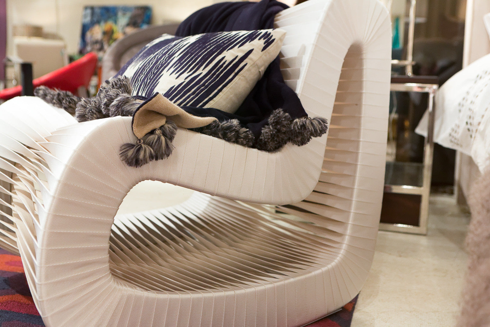 Seat Belt Rocking Chair   Phillips Collection