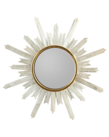 Selenite Starburst Mirror - John-Richard