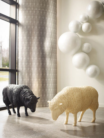Sheep Sculpture Cream- Phillips Collection