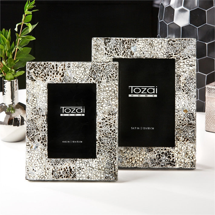 Shimmering Photo Frames Small - Two\'s Company | Luxe Home Philadelphia