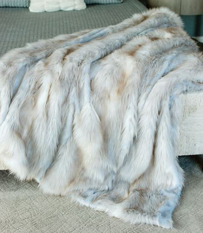 Siberian Fox Limited Edition Throw - Fabulous Furs
