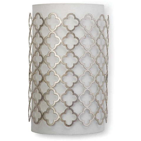 Silver Modern Luxe Sconce - Regina Andrew
