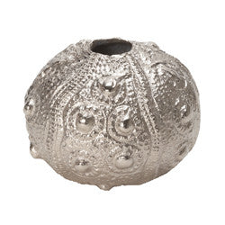 Small Silver Sea Urchin - Dimond Home