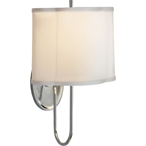 Simple Scallop Wall Sconce - Visual Comfort