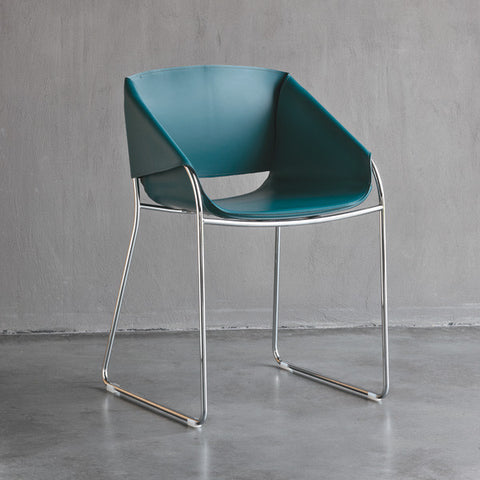 Simply Oil Blue Chair - Tonin Casa