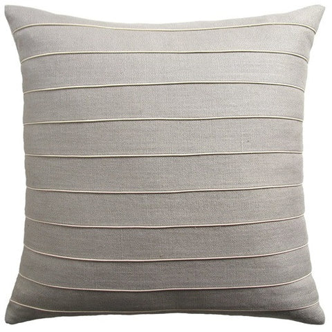 Slubby Linen Micro Piping Pillow - Ryan Studio