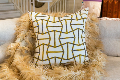 Sorento Collection Trapeze Pillow - Sabira Collection