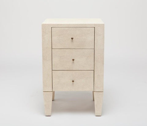 Sorin 3 Drawer Nightstand Single Off White - Made Goods
