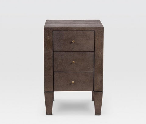 Sorin 3 Drawer Nightstand Single Toffee - Made Goods