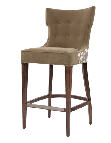 Spencer Klismos Bar Stool - Belle Meade Signature