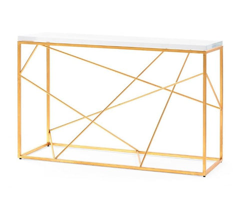 Spiro Console, Gold - Bungalow 5