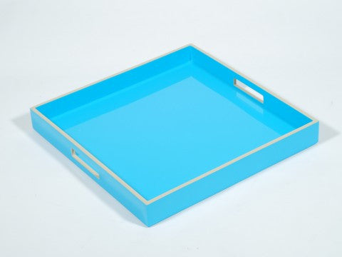 Square Serving Tray Sea Blue - Pacific Connections