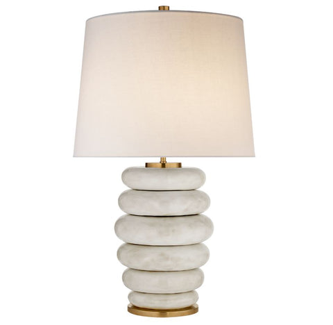 Phoebe Stacked Table Lamp - Visual Comfort
