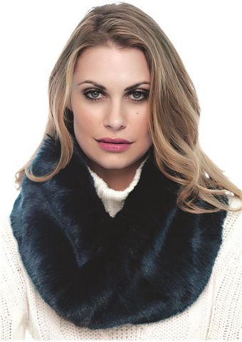 Faux Fur Eternity Scarf - Fabulous Furs