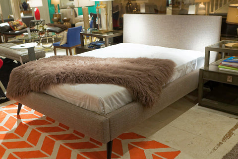 Lawrence Queen Bed, Vibe Smoke - Precedent Furniture