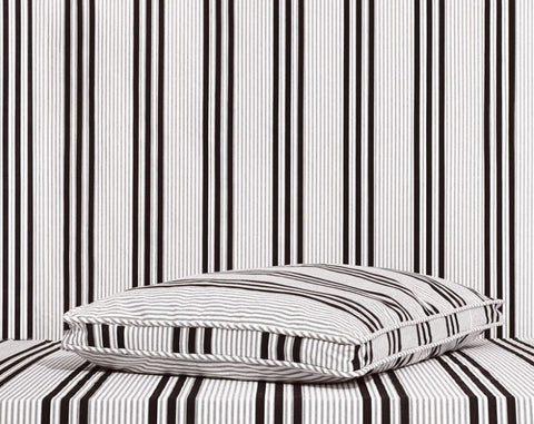 Stripe Mattress Dog Bed - Mr. Dog
