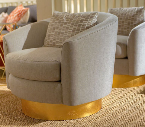 Camino Swivel Chair - Bernhardt Interiors