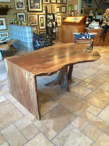 Sycamore Desk - Wood Shop