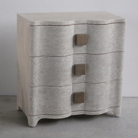 Toile Linen Bedside Chest - Studio A