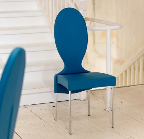 Vivienne Night Blue Chair - Tonin Casa