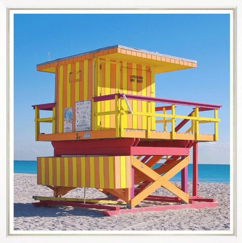 Miami Beach Lifeguard Towers 8 - Trowbridge Gallery