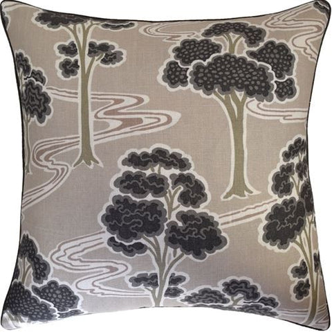 Tree River Pillow 22x22 - Ryan Studio
