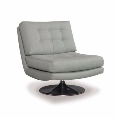 Trent Armless Swivel Chair - Precedent Furniture