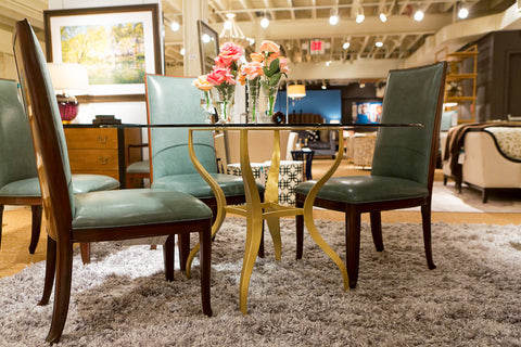Val side chair baker furniture luxe home philadelphia for Affordable furniture in baker