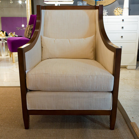 Velum-Alabaster Paris Chair - Bolier & Company