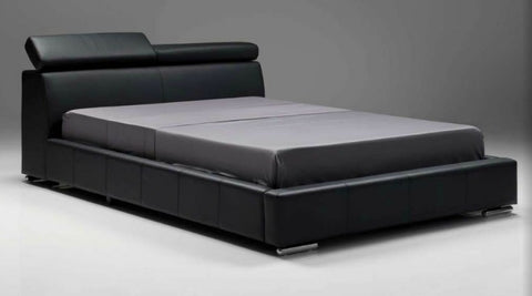 Vertu Black King Bed - Mobital